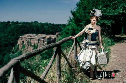 Nina RedGirl by Alessandro Zingone