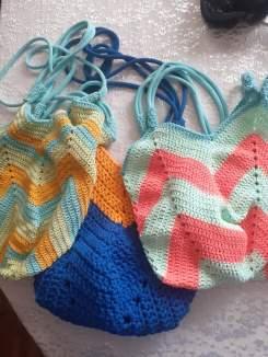 Crochet bag work in progress